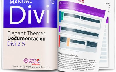 Manual de Divi 2.5 de Elegant Themes en pdf – WordPress –