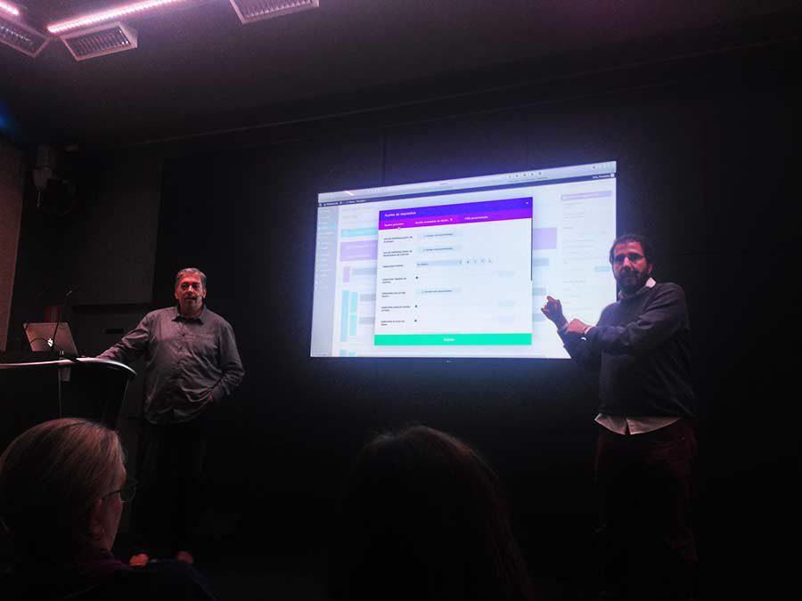 Charla sobre el tema Divi 2.5 en la MeetUp de WordPress de Madrid
