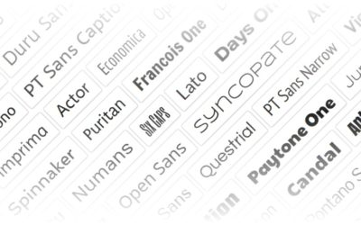 Divi posiblemente tiene ahora las mejores opciones para fuentes y tipografías que existen