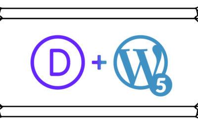 Divi 3.18x es compatible con WordPress 5.0