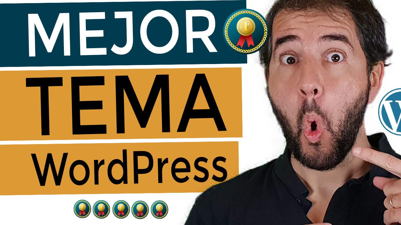 El mejor tema de WordPress [2020]