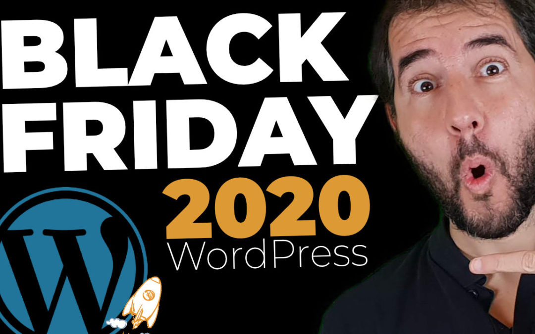 Black Friday WordPress 2020 – Recopilación de los mejores descuentos